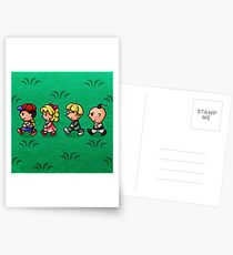 Earthbound Guys Postcards