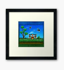 Duck Hunt! Framed Print