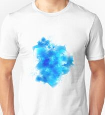 Abstract blue watercolor background T-Shirt