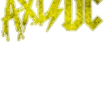 Axl/DC Yellow Logo Modern by OhighO76
