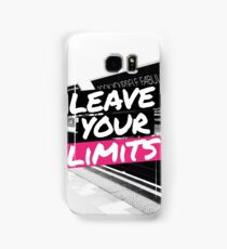 Leave Your Limits Samsung Galaxy Case/Skin