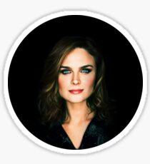 Emily Deschanel Sticker