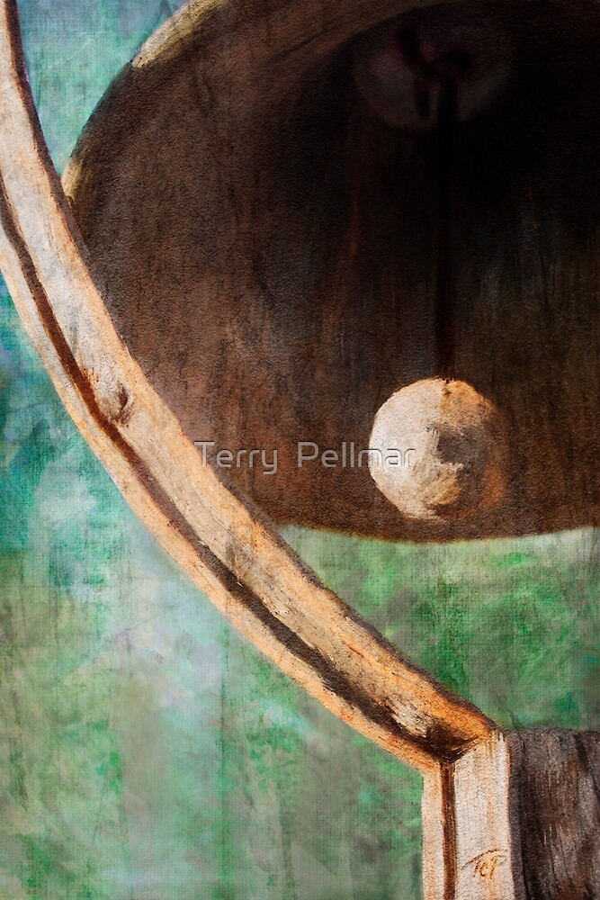 Patio Bell by Terry  Pellmar