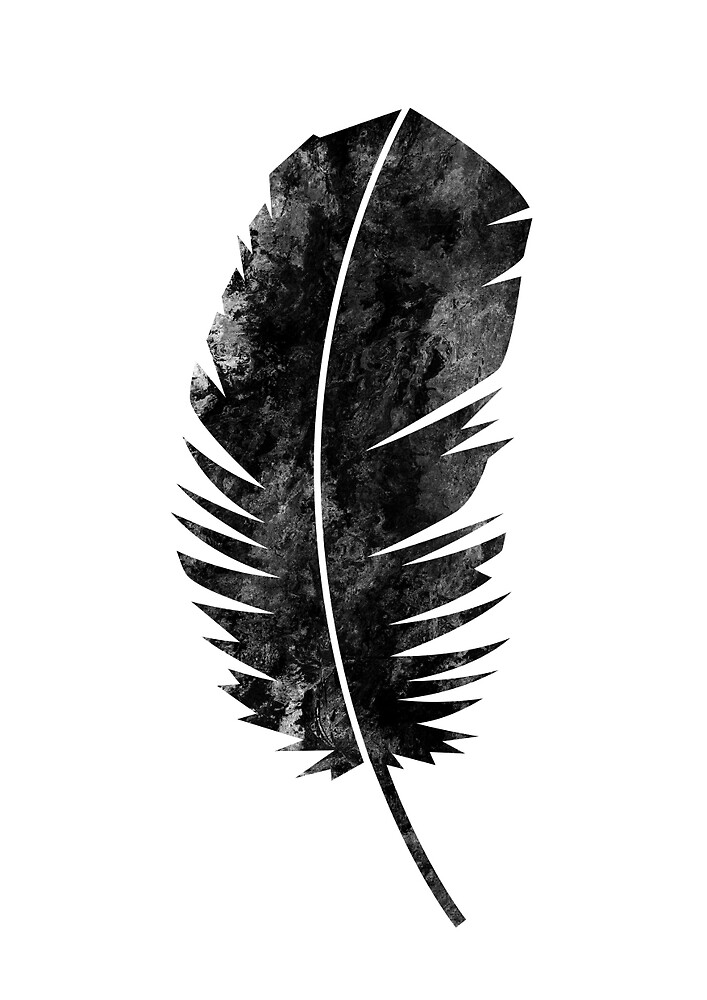 Black Feather by mgddesign