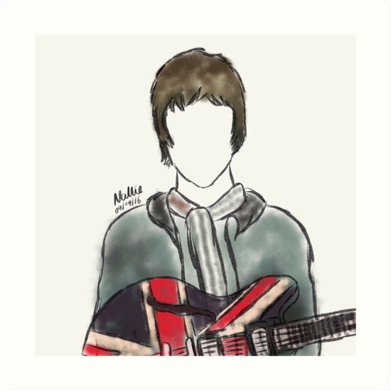Noel Gallagher by nalliessketches