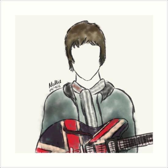 Noel Gallagher by nalliessketches