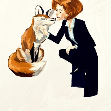 trust of a fox - x files by tumblebuggie