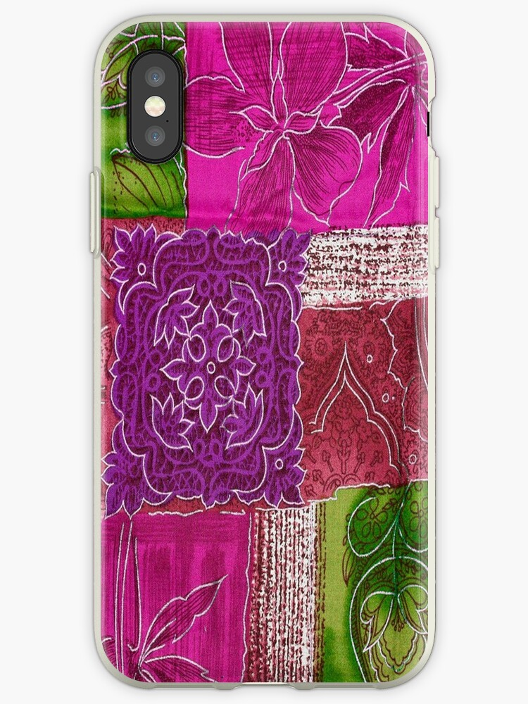 Patchwork purple,boho,trendy,modern,hippie,country chic, by love999