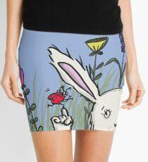 Hoppel bunny and the spring Mini Skirt