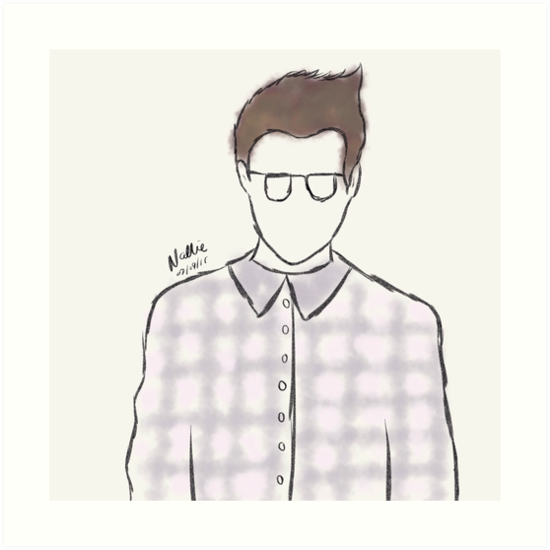 Morrissey by nalliessketches