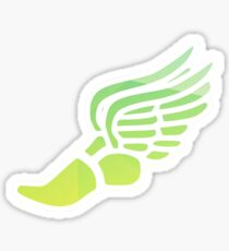 Yellow/Green Ombre Track Shoe Sticker