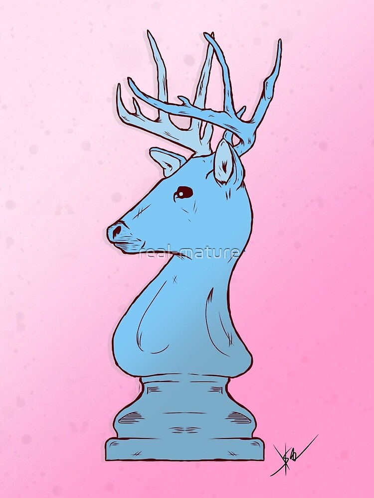 Chess Piece Deer by real-mature
