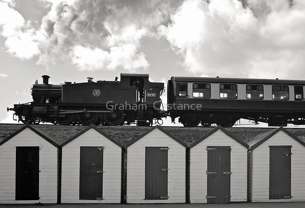 Goodrington Steam Train by Graham  Custance