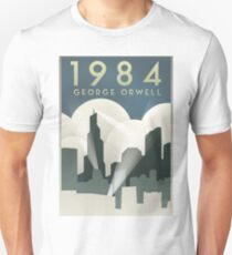 George Orwell - 1984, Art Deco Poster T-Shirt