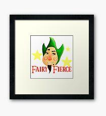 Fairy Fierce Framed Print