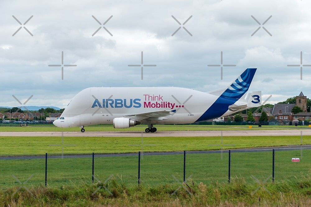 Airbus Beluga Supertransporter by Russell102