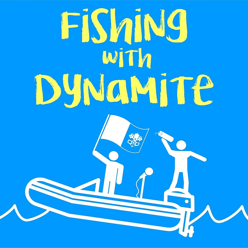 Fishing with Dynamite Classic Logo by fwdpodcast