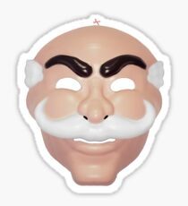 Anonymous Mask Sticker