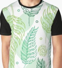 Maori fern Graphic T-Shirt