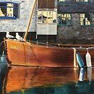 Polperro, Cornwall by Pam Wilkie