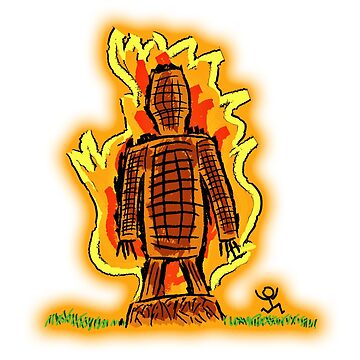 Wicker man by burghfieldfripp