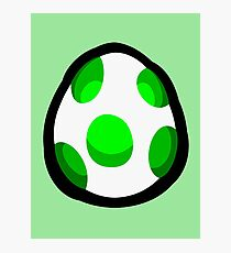Yoshi Egg Photographic Print