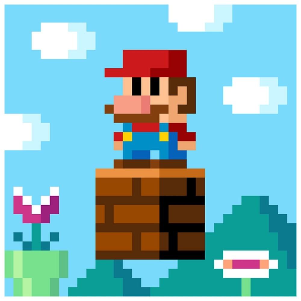 pixel World by Dante Makeli