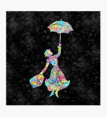 Mary Poppins - The Magical Nanny Photographic Print