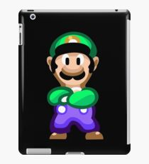Luigi 16 Bit iPad Case/Skin