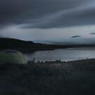 the tent at Mývatn by Rebecca Tun