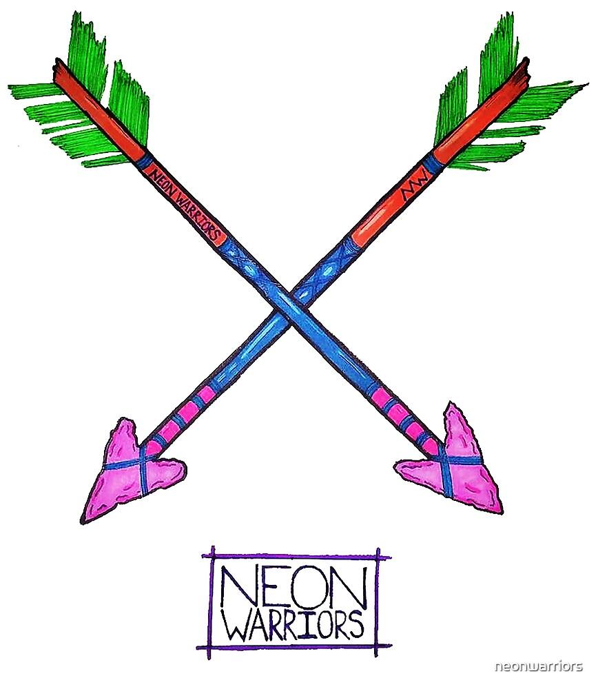 Neon Warriors Arrows  by neonwarriors
