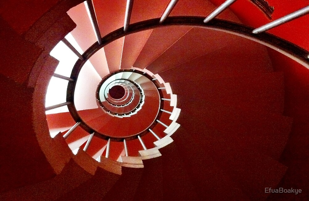 SPIRAL STAIRCASE by EfuaBoakye