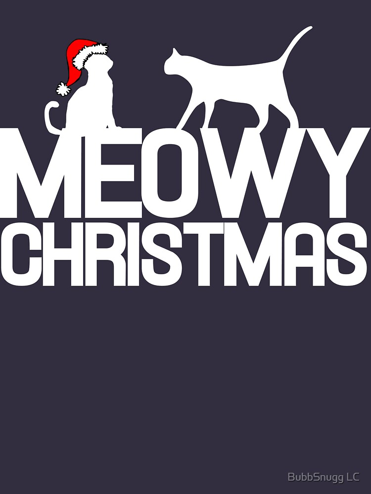 MEOWY Christmas cats by Boogiemonst