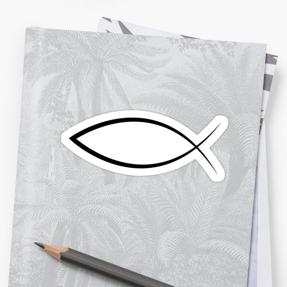 Jesus Fish by christianshirts