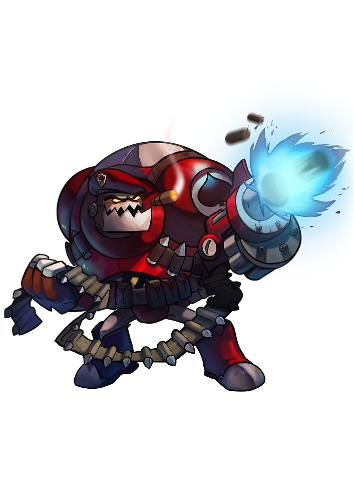 Expendable Clunk - Awesomenauts by STOANGaming