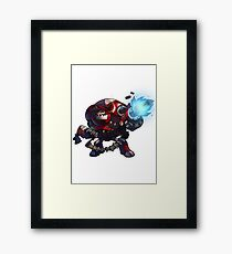 Expendable Clunk - Awesomenauts Framed Print