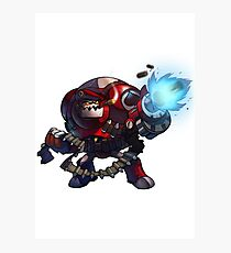 Expendable Clunk - Awesomenauts Photographic Print