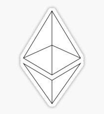 Ethereum Outlined Sticker