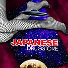 Japanese Drugstore Flying Saucer by fuskanora