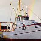A lone boat in Kef by Melissa Lulashnyk