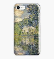 Claude Monet - Poplars on the Epte (1891)  iPhone Case/Skin
