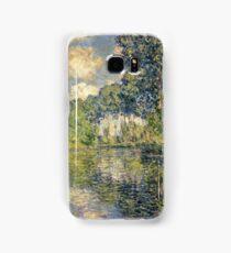 Claude Monet - Poplars on the Epte (1891)  Samsung Galaxy Case/Skin