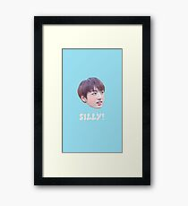 JUNGKOOK - SILLY Framed Print