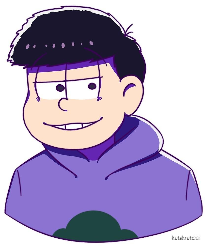 Osomatsu-san Ichimatsu by katskratchii