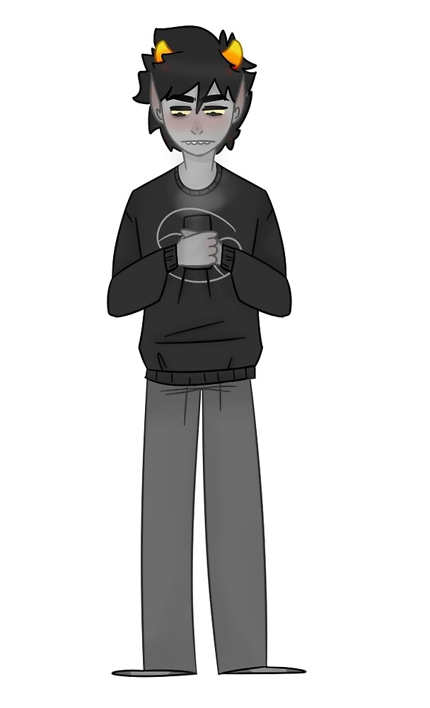 sick day karkat by moon6oy