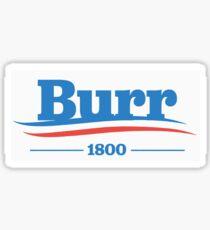 burr 1800 Sticker