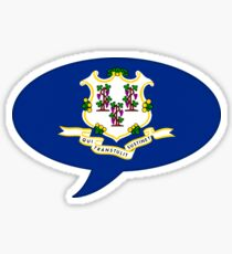Connecticut State Flag Graphic USA Styling Sticker