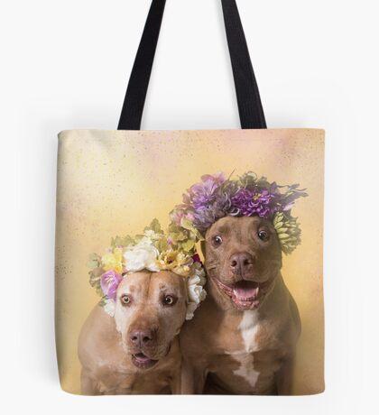 Flower Power, Indie and Choco Tote Bag