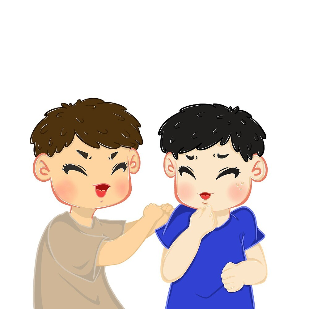 Dan and Phil Sticker by biapannie