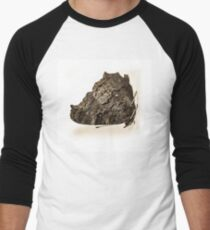 butterfly b&w Men's Baseball ¾ T-Shirt